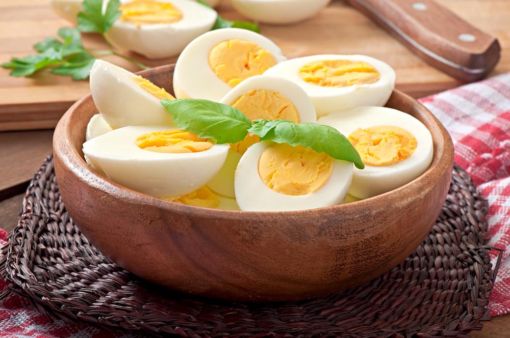ゆで卵 サラダチキン