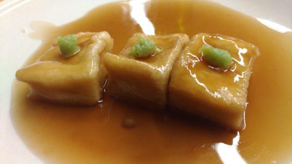 マクロビオティック 揚げ出し豆腐