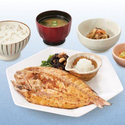 いとより鯛の塩麹みりん漬け炭火焼き定食